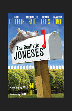 The Realistic Joneses, Lyceum Theatre, NYC Show Poster