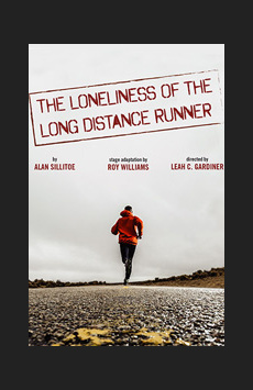 The Loneliness of the Long Distance Runner, Atlantic Stage 2, NYC Show Poster