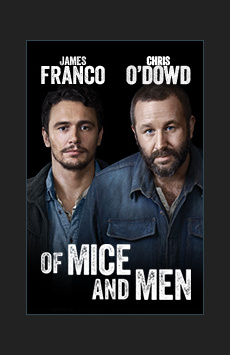 Of Mice and Men,, NYC Show Poster