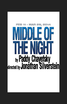 Middle of the Night, Theatre Row/Clurman Theatre, NYC Show Poster