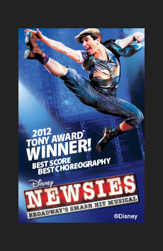 Newsies,, NYC Show Poster