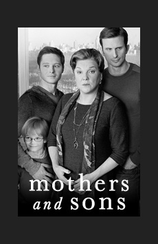 Mothers and Sons, John Golden Theatre, NYC Show Poster