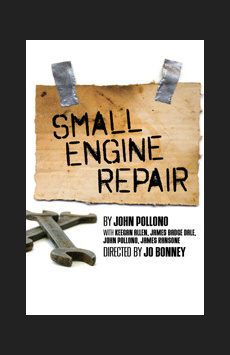 Small Engine Repair, Lucille Lortel Theatre, NYC Show Poster