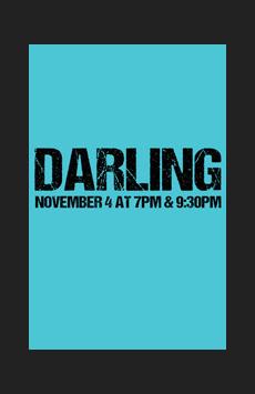 Darling in Concert, Feinstein's/54 Below, NYC Show Poster