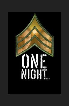 One Night... , Cherry Lane Theatre, NYC Show Poster