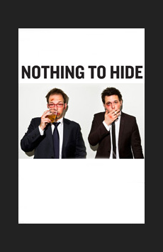 Nothing to Hide, Romulus Linney Courtyard Theatre at The Pershing Square Signature Center, NYC Show Poster