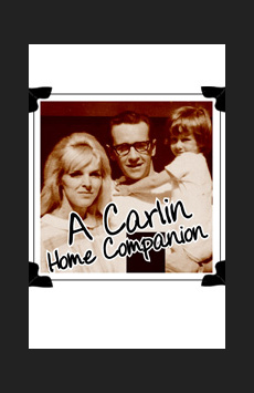 A Carlin Home Companion: Growing Up With George, Cherry Lane Theatre, NYC Show Poster