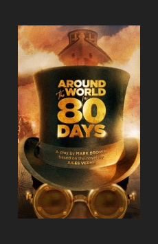 Around the World in 80 Days, YOW! Theater, NYC Show Poster