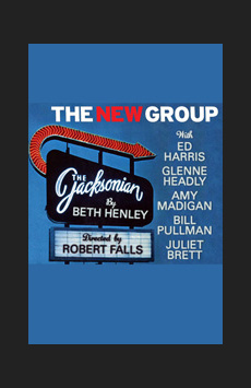 The Jacksonian, Theatre Row/Acorn Theatre, NYC Show Poster