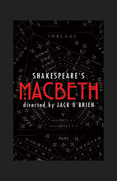 Macbeth , Vivian Beaumont Theater, NYC Show Poster