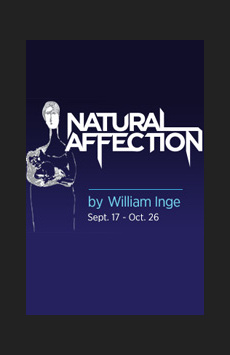 Natural Affection, The Beckett Theatre (Theatre Row), NYC Show Poster