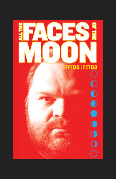 All the Faces Of the Moon, Joe's Pub, NYC Show Poster