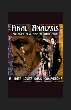 Final Analysis, The Alice Griffin Jewel Box Theatre, NYC Show Poster