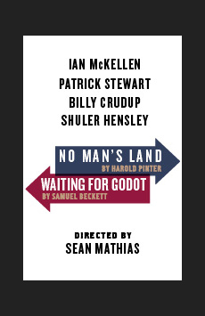 Waiting For Godot, Cort Theatre, NYC Show Poster