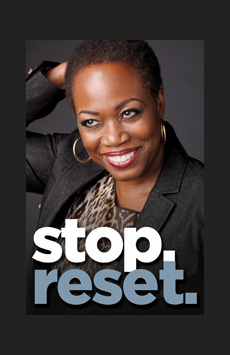 stop. reset., Romulus Linney Courtyard Theatre at The Pershing Square Signature Center, NYC Show Poster