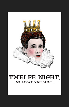 Twelfth Night,, NYC Show Poster