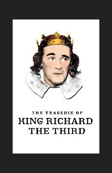 Richard III, Belasco Theatre, NYC Show Poster