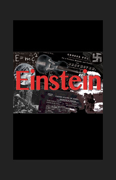 Einstein, Theatre at St. Clement's, NYC Show Poster