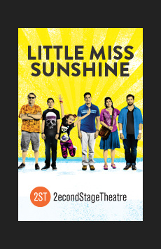 Little Miss Sunshine, Tony Kiser Theatre, NYC Show Poster
