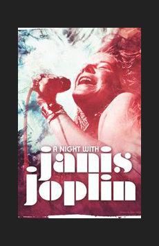 A Night With Janis Joplin,, NYC Show Poster