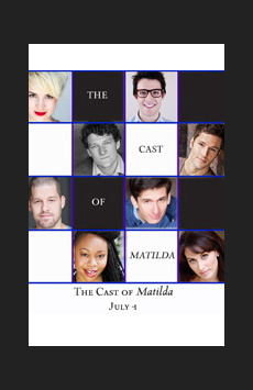 The Cast of Matilda, Feinstein's/54 Below, NYC Show Poster
