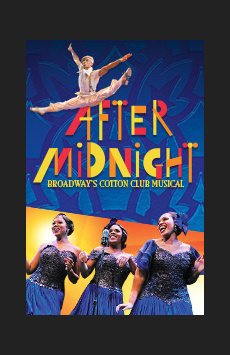 After Midnight, Brooks Atkinson Theatre, NYC Show Poster