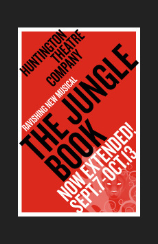 Jungle Book,, NYC Show Poster
