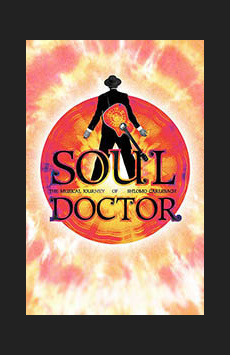 Soul Doctor: Journey of a Rock-Star Rabbi, Circle In The Square Theatre, NYC Show Poster