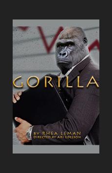 Gorilla, The Lion Theatre (Theatre Row), NYC Show Poster