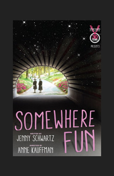 Somewhere Fun, Vineyard Theatre, NYC Show Poster
