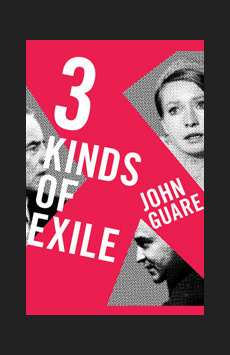 3 Kinds of Exile, Atlantic Theater Company, NYC Show Poster