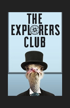 The Explorers Club, Manhattan Theatre Club, NYC Show Poster