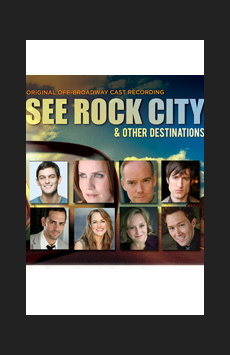 See Rock City & Other Destinations, Feinstein's/54 Below, NYC Show Poster