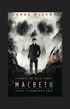 Macbeth,, NYC Show Poster