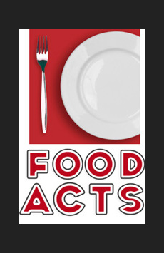 FoodActs, The Lion Theatre (Theatre Row), NYC Show Poster