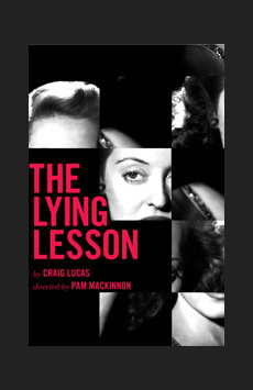The Lying Lesson, Atlantic Theater Company, NYC Show Poster