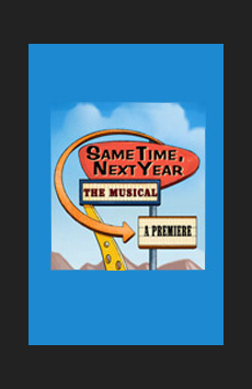 Same Time, Next Year, The Lion Theatre (Theatre Row), NYC Show Poster