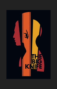 The Big Knife, American Airlines Theatre, NYC Show Poster