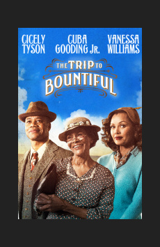 The Trip to Bountiful, Stephen Sondheim Theatre, NYC Show Poster