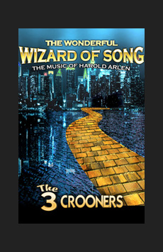 The Wonderful Wizard of Song, St. Luke's Theatre, NYC Show Poster