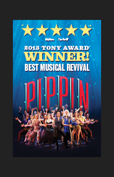 Pippin, Music Box Theatre, NYC Show Poster