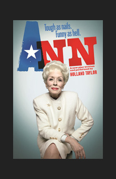 Ann, Vivian Beaumont Theater, NYC Show Poster