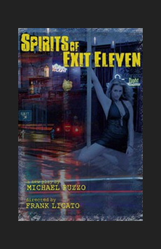 Spirits of Exit Eleven, The Lion Theatre (Theatre Row), NYC Show Poster