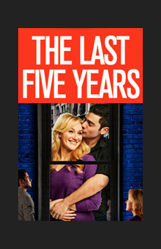 The Last Five Years, Tony Kiser Theatre, NYC Show Poster