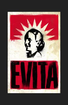 Evita,, NYC Show Poster