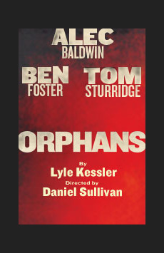Orphans, Schoenfeld Theatre, NYC Show Poster