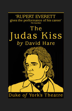 The Judas Kiss,, NYC Show Poster