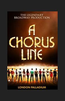A Chorus Line,, NYC Show Poster