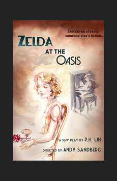 Zelda at the Oasis, St. Luke's Theatre, NYC Show Poster