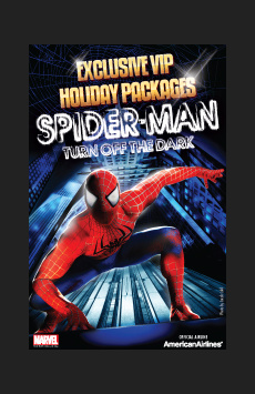 Spider-Man, Turn Off the Dark - VIP Packages,, NYC Show Poster